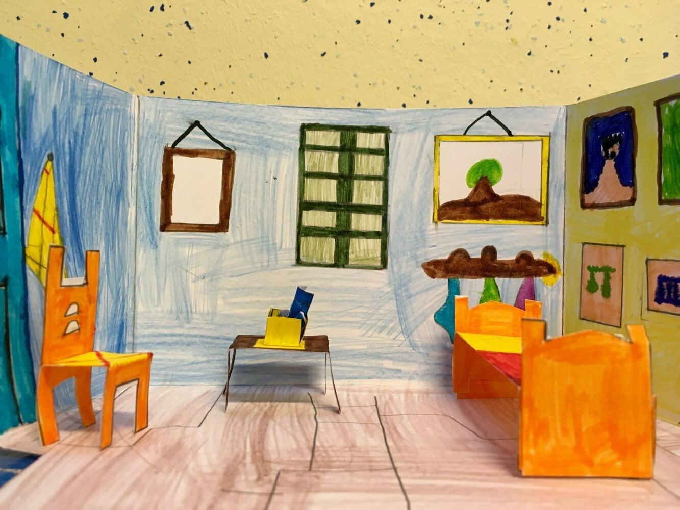 les l 39 h tel van gogh la chambre arles. Black Bedroom Furniture Sets. Home Design Ideas
