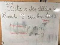 Election des délégués en CM2G