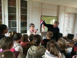 Visite de la mairie de Damville