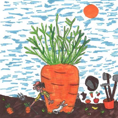 Rock around the Carrot